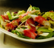 Alaska Red King Crab Salad with Avocado, Grapefruit and Citrus Ginger Vinaigrette