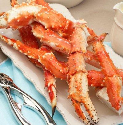 Boiled Alaska King Crab Legs
