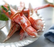 Chai-Grilled Alaska Snow Crab