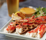 Grilled Alaska King Crab with Tabasco® Aioli