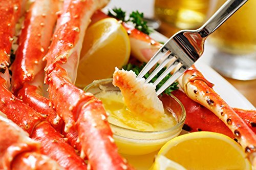 Jumbo Red King Crab 5 Lb Box - Premium Quality - Discounted Overnight Shipping Monday-Thursday